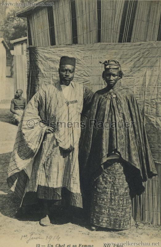 ND 13 - Un Chef et sa Femme - Jardin d'Acclimatation 1 1914 VS