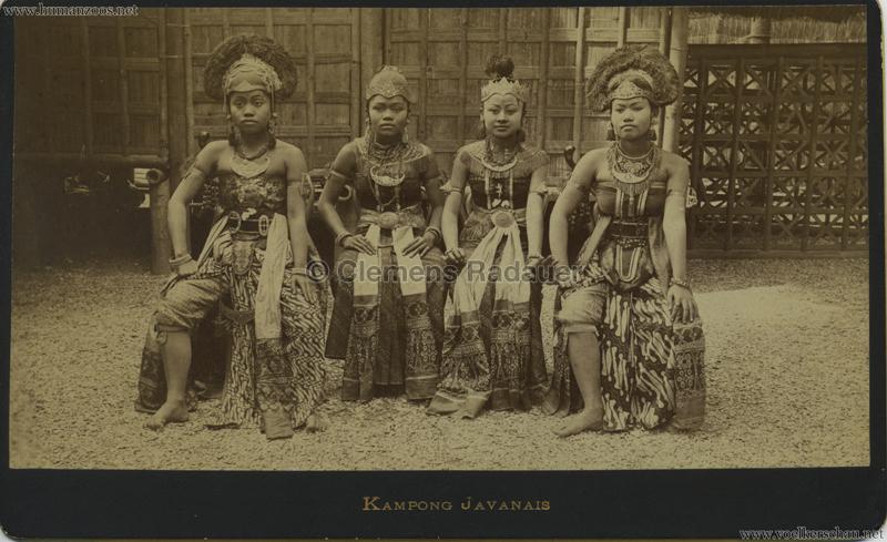 1889 Exposition Universelle Paris - Kampong Javanais 5
