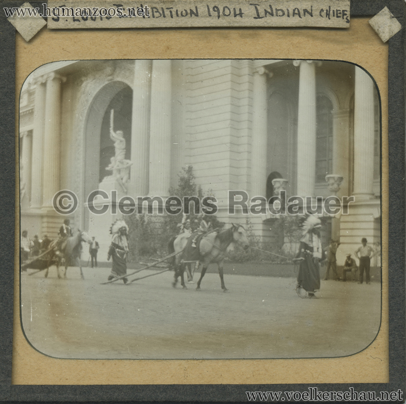 1904 St Louis Exhibition - Indian Chiefs MIX