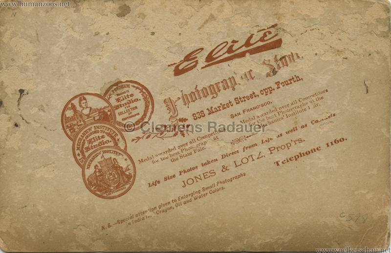 1889 Cunninghams Samoaner - San Fransisco RS