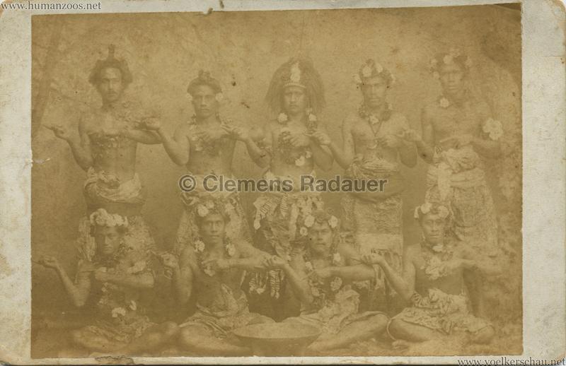 1889 Cunninghams Samoaner - San Fransisco VS