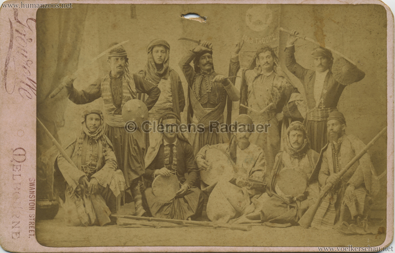 1892 Hadjtahars Arab Troupe 1 VS