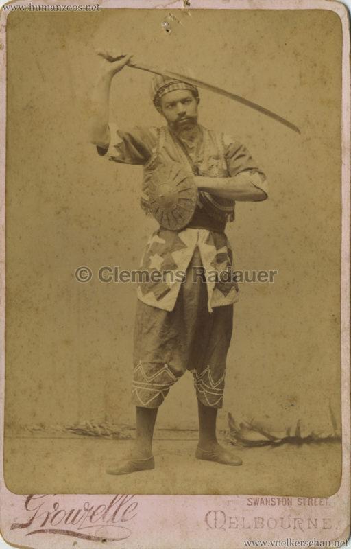 1892 Hadjtahars Arab Troupe 2 VS
