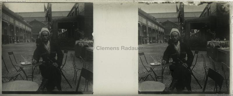 1895 Exposition Russe Hippique et Ethnographique STEREO 2