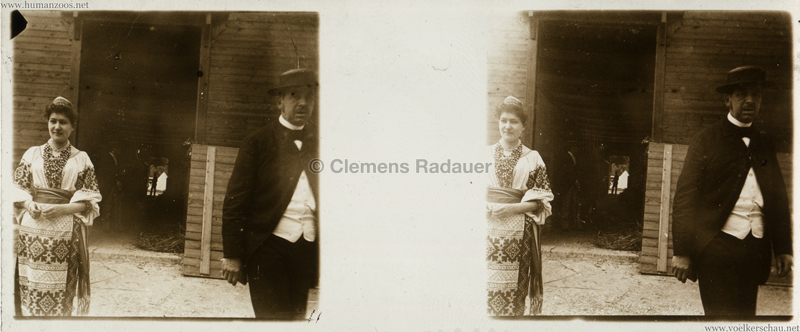 1895 Exposition Russe Hippique et Ethnographique STEREO 3