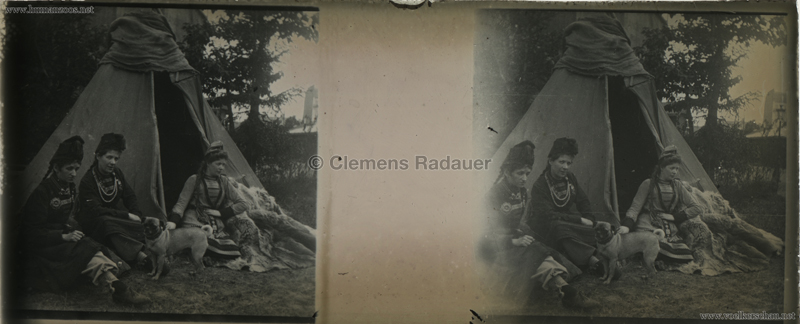 1895 Exposition Russe Hippique et Ethnographique STEREO 4