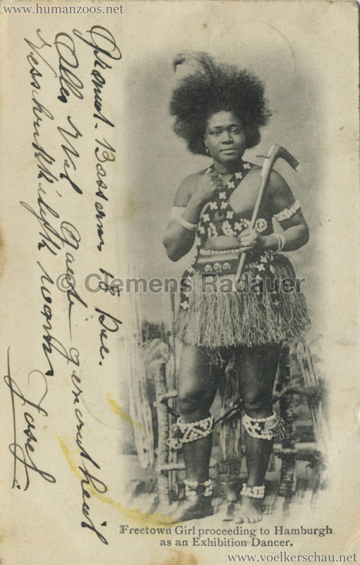 1902 Freetown Dancer
