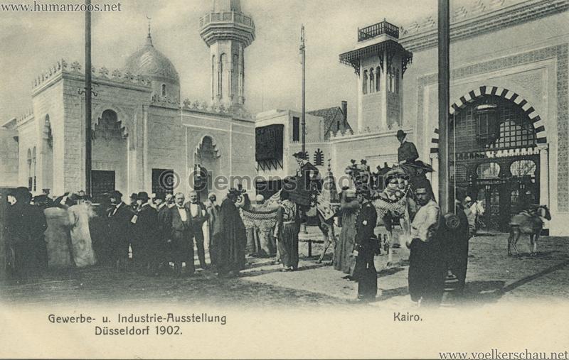 1902 Industrie- & Gewerbeausstellung Düsseldorf - Kairo 2