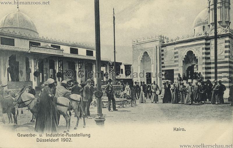 1902 Industrie- & Gewerbeausstellung Düsseldorf - Kairo 3