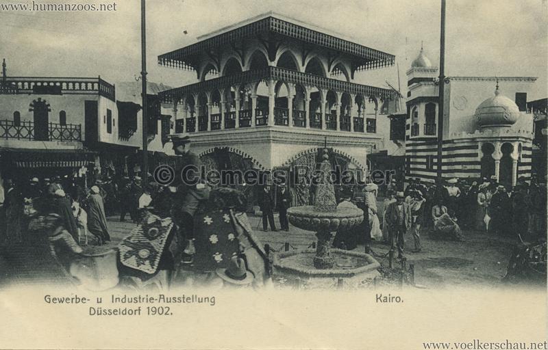 1902 Industrie- & Gewerbeausstellung Düsseldorf - Kairo 4