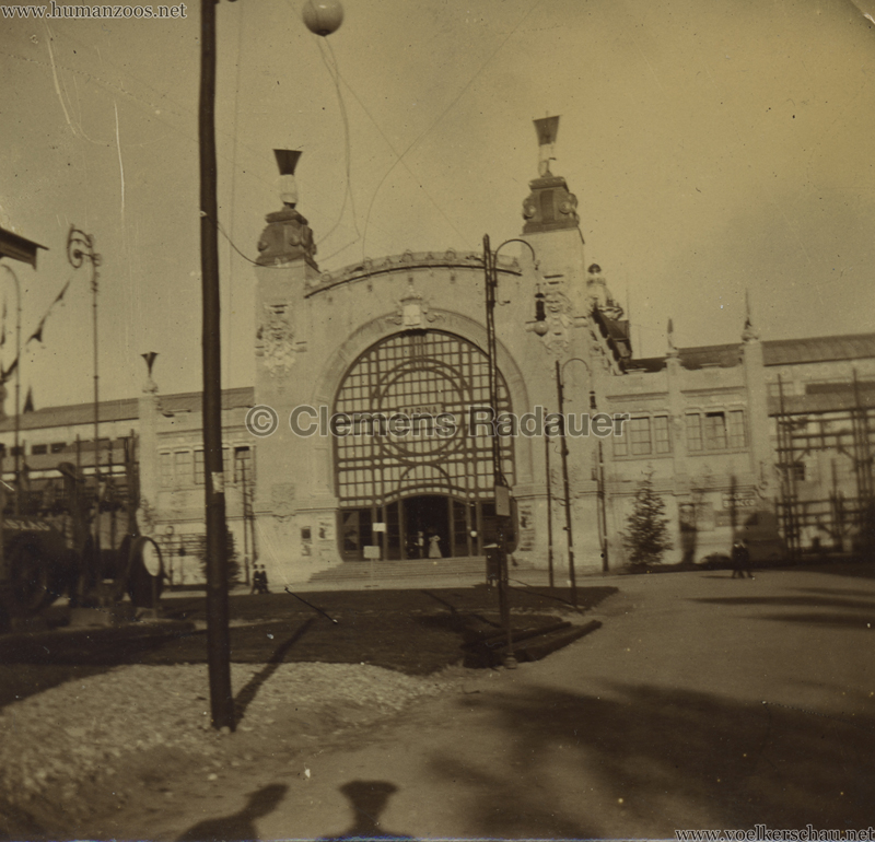 1906 Esposizione a Milano - La Marina entrata laterale FOTO