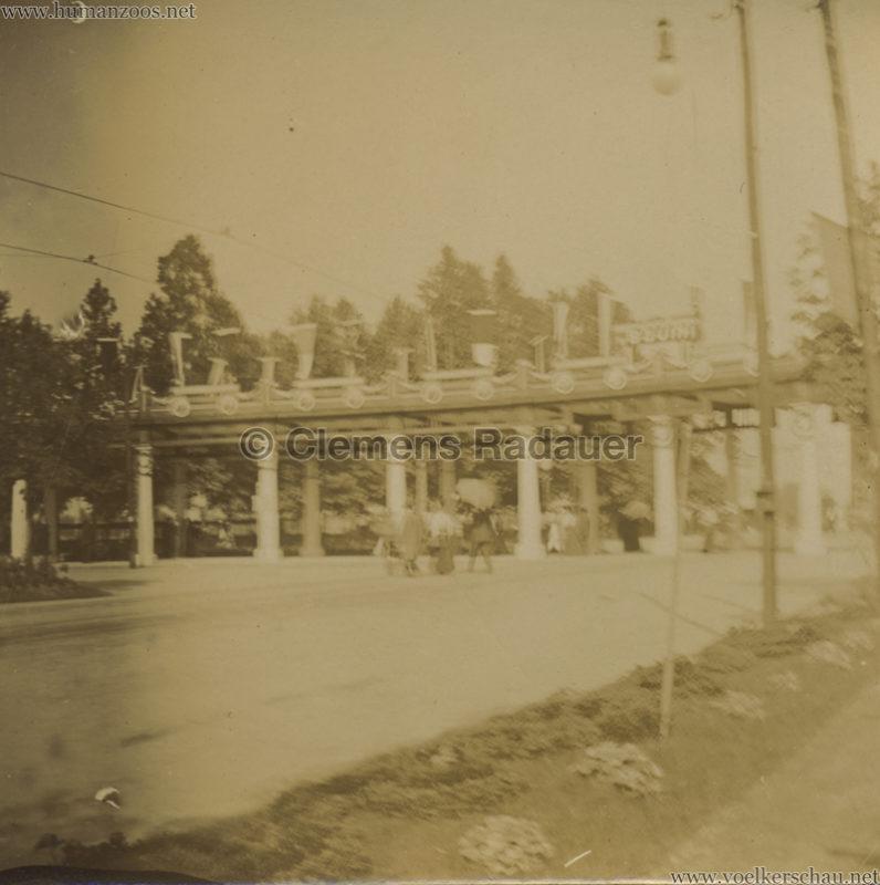 1906 Esposizione a Milano - Porte all'entrata dell esposizione piazza d'armi FOTO