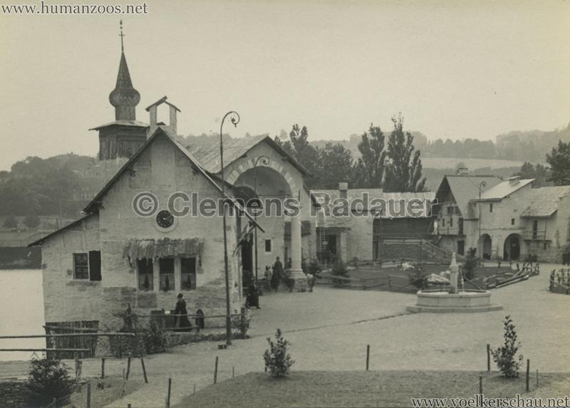 1914 Exposition Coloniale Lyon Village Alpin 6