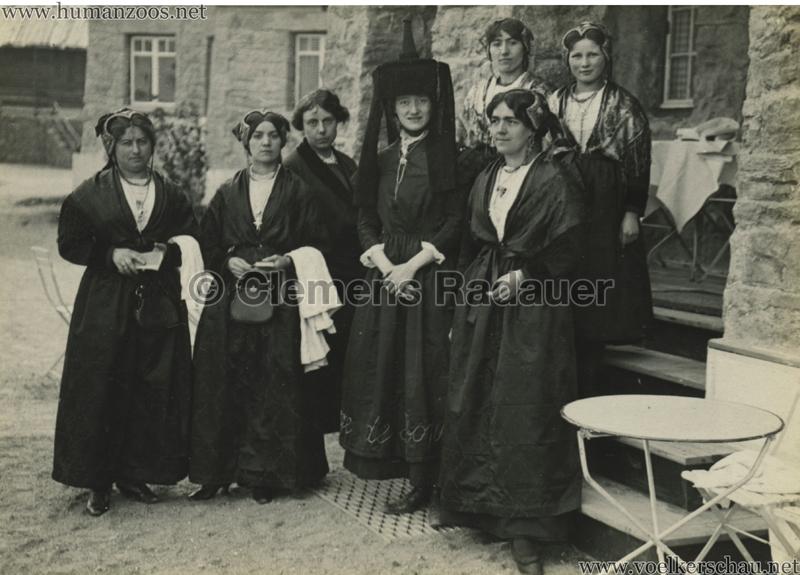1914 Exposition Coloniale Lyon Village Alpin 7