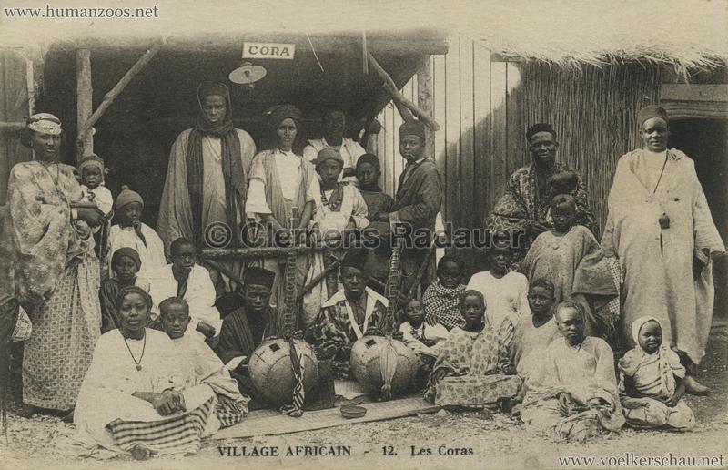 Village Africain - 12. Les Coras 1927