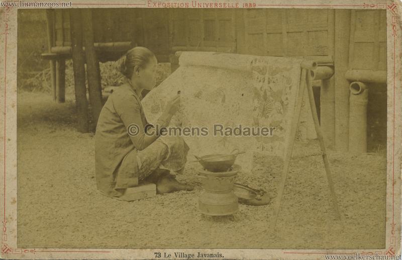 1889 Exposition Universelle Paris - Kampong Javanais 6