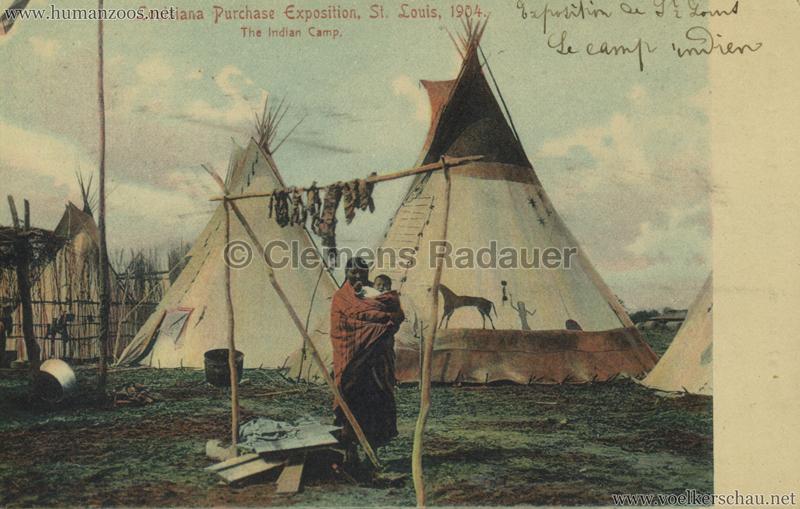 1904 St. Louis World's Fair - The Indian Camp
