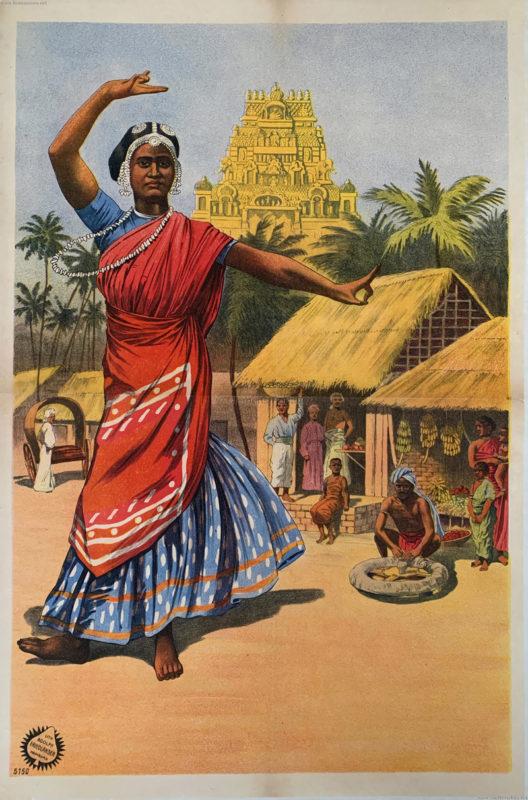 1910:1911:1912 Gustav Hagenbeck's größte indische Völkerschau der Welt (???) PLAKAT Friedländer 5150