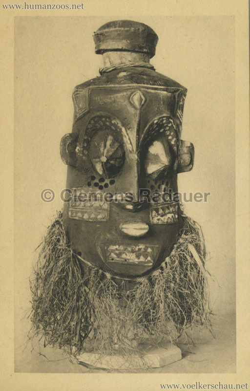 Museum für Völkerkunde Basel - Tanzmaske der Bakuba Kassai (Kongo)