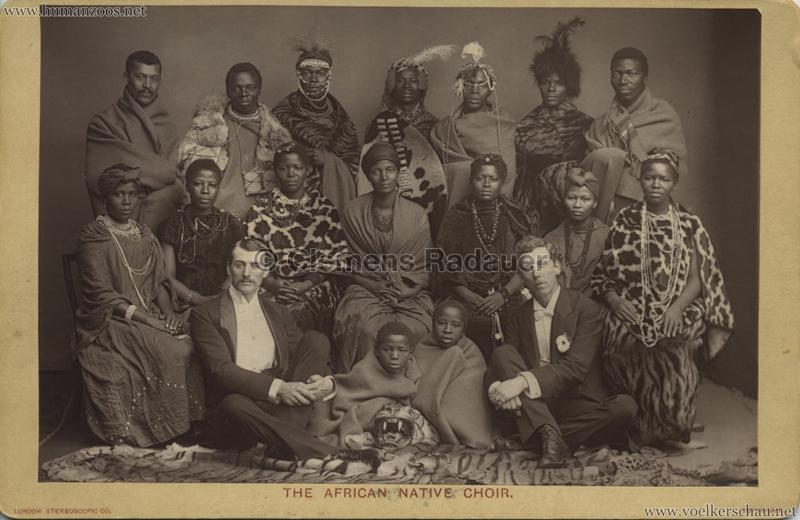 The African Native Choir CDV