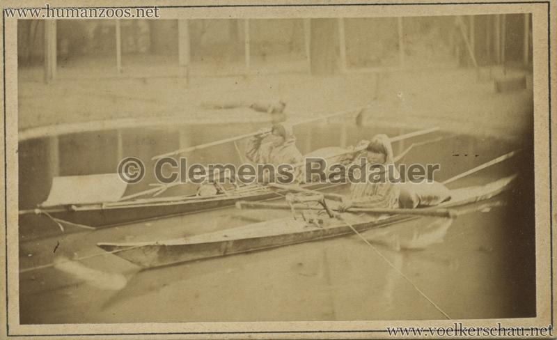1877:1878 Hagenbeck Eskimo 7 - CDV - Adrian Jacobsen VS