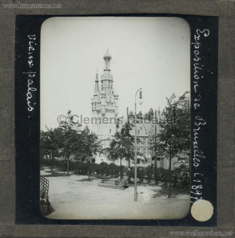 1897 Exposition Internationale de Bruxelles - Vieux Palais GLASS MIX
