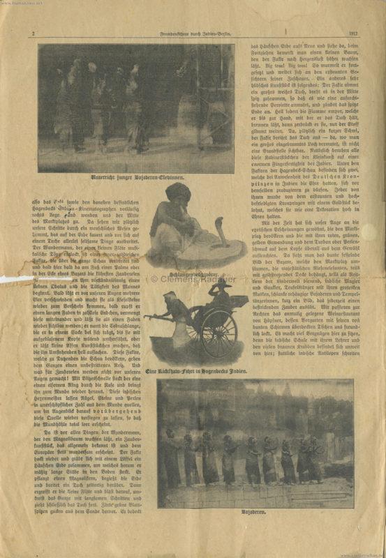 1912 Fremdenführer durch Indien in Berlin 2