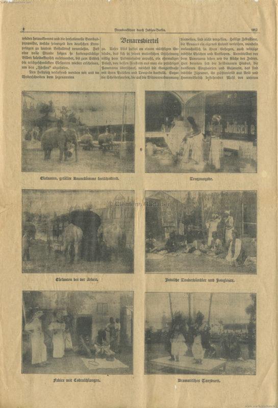 1912 Fremdenführer durch Indien in Berlin 4