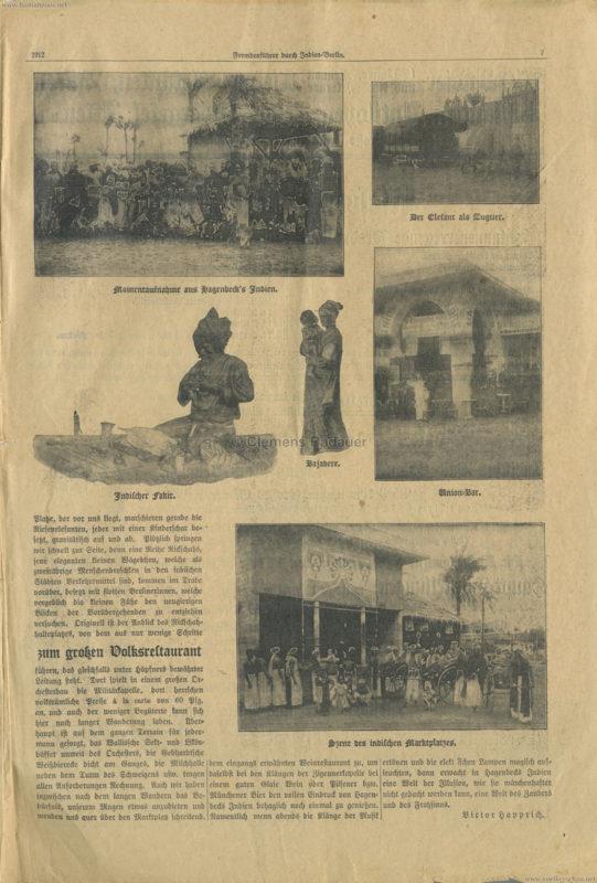 1912 Fremdenführer durch Indien in Berlin 7